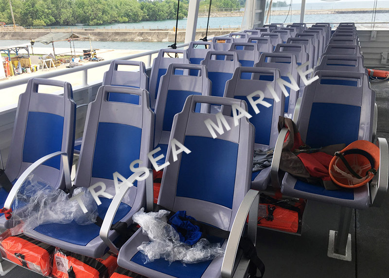 plastic seats for passenger ships