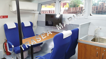 Marine seats for fast crew boats in Singapore